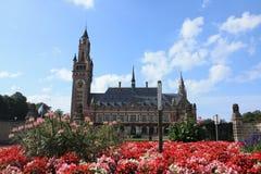 Internationaal Gerechtshof, Den Haag Royalty-vrije Stock Fotografie