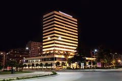 Internationaal Hotel, Tirana stock foto