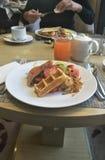Internationaal ontbijt Royalty-vrije Stock Afbeeldingen