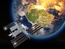 Internationaal Ruimtestation Stock Afbeeldingen