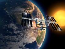 Internationaal Ruimtestation Stock Afbeelding