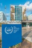 Internationaal strafrechtergebouw Royalty-vrije Stock Afbeeldingen