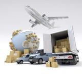 Internationaal vervoer Royalty-vrije Stock Foto