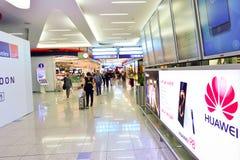 international Дубай авиапорта Стоковая Фотография