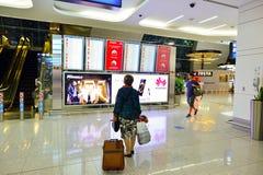international Дубай авиапорта Стоковые Фото