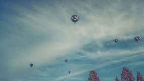 international фиесты bristol воздушного шара Стоковое фото RF