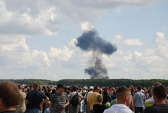 International Air Demonstrations AIR SHOW Stock Photography