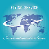 International air travel Stock Photo
