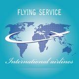 International air travel Stock Photo