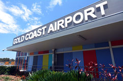 International Airpor de Gold Coast Imágenes de archivo libres de regalías