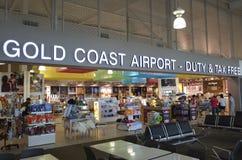 International Airpor de Gold Coast Fotografía de archivo