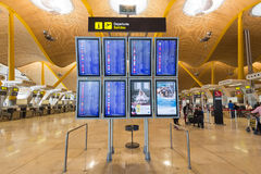 International Airpor de Madrid Barajas Images libres de droits