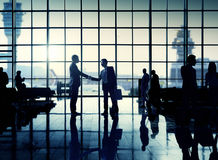 International Airport Business Travel Airport Terminal Concept Royalty Free Stock Photography
