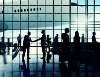 International Airport Business Travel Airport Terminal Concept Stock Images