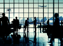 International Airport Business Travel Airport Terminal Concept Stock Photography