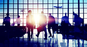 International Airport Business Travel Trip Concept Royalty Free Stock Image