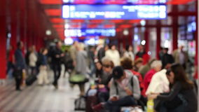International airport stock footage