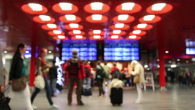 International airport stock video footage