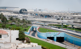 International airport in Dubai Stock Images