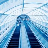 International Airport elevator Royalty Free Stock Photography