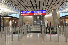 International airport in Hong Kong Royalty Free Stock Image