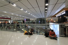 International airport in Hong Kong Stock Photos