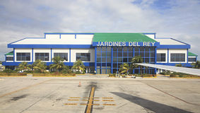 International airport Jardines Del Rey of Cayo Coco. Stock Photos