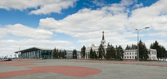 International Airport Kharkov Royalty Free Stock Photos