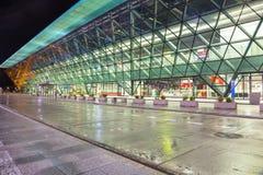 International Airport in Krakow Balice, Poland. Krakow, Poland - November 11, 2017: John Paul II International Airport in Krakow Balice, Poland Royalty Free Stock Image