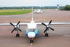 International Airport Kyiv Stock Image
