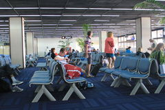 International Airport in Mandalay Stock Images