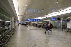 International airport of Prague Stock Photos