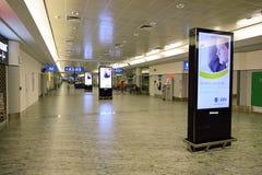 International airport of Prague Stock Image