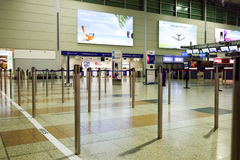 International airport of Prague Stock Image