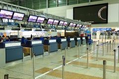 International airport of Prague Stock Photo