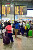 International airport of Prague Stock Images
