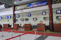 International Airport in Siem Reap Stock Image