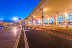 International Airport Terminal T3 night Stock Images