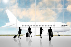 International Airport Terminal Stock Images