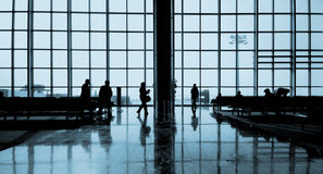 International Airport Traveling Airplane Airport Concept Royalty Free Stock Photography