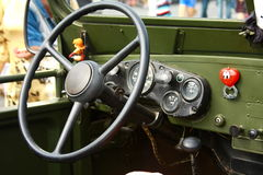 International antique motor vehicle rally 'Riga Retro' 2013 Royalty Free Stock Photos