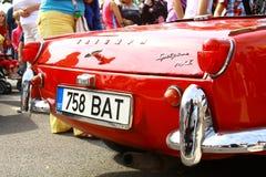 International antique motor vehicle rally 'Riga Retro' 2013 Royalty Free Stock Photo