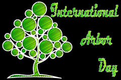 International Arbor Day. Natural background Royalty Free Stock Images