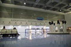 International Augusto Cesar Sandino Airport view from Managua, Nicaragua Stock Image