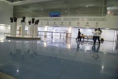 International Augusto Cesar Sandino Airport view from Managua, Nicaragua Stock Images