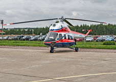 International aviation and space salon MAKS in Zhukovsky, Russia Stock Photography