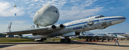 International aviation and space salon MAKS in Zhukovsky, Russia Royalty Free Stock Photo