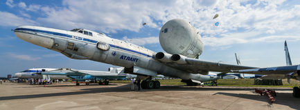International aviation and space salon MAKS in Zhukovsky, Russia Royalty Free Stock Images