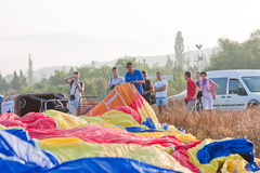 International Balloon Festival Montgolfeerie Royalty Free Stock Photo
