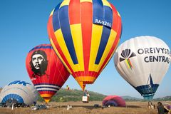International Balloon Festival Montgolfeerie Royalty Free Stock Photos
